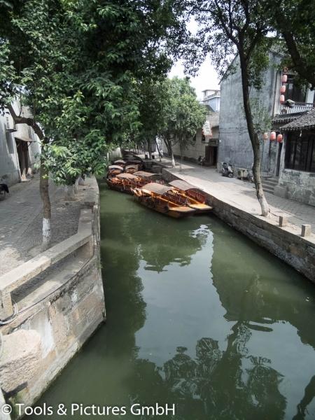 Boote auf dem Kaiserkanal