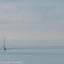 Geisterschiff im Dunst