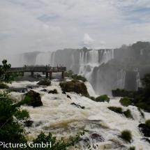 Wasserfälle bei Iguazú